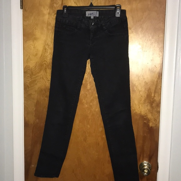 Jolt Denim - Black Skinny Jeans